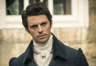 Part Two Sunday, November 2, 2014 at 9-10:30pm on PBS A suspect goes on trial for his life, while Elizabeth pursues the real truth behind a mysterious death. The future of Darcy's sister Georgiana also hangs in the balance. Shown: Matthew Goode as Wickham (C) Robert Viglasky/Origin Pictures 2013 for MASTERPIECE This image may be used only in the direct promotion of MASTERPIECE. No other rights are granted. All rights are reserved. Editorial use only.